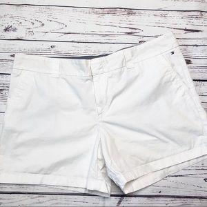 Tommy Hilfiger white chino shorts